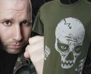 "Sage Francis ""Sick Of Wasting"" T-Shirt Available Now!"