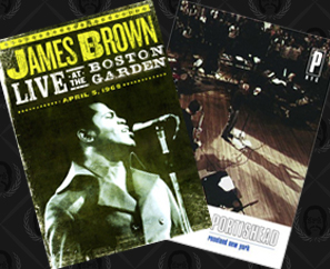 New DVDs Available! James Brown & Portishead!