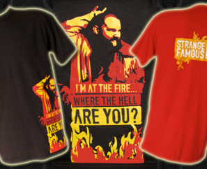 "NEW SFR ""At The Fire"" T-Shirts AVAILABLE NOW!"