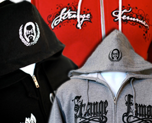 3 New SFR Zip Hoodies! ALL SIZES BACK IN STOCK!