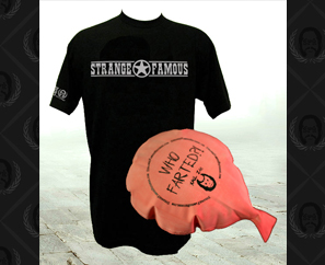 NEW! SFR T-Shirts & Xaul Zan Whoopee Cushions!