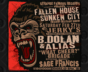 Fallen House, Sunken City Record Release Show in Providence SOLD OUT!