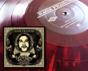"Sage Francis ""LI(F)E"" Now Available on RED VINYL! Limited Edition!"