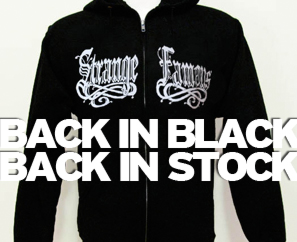 BACK IN STOCK! SFR Black Zip Hoodie, Jackets, Sage & B. Dolan T-Shirts!